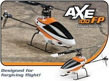 New Helimax Axe 100 FP Fixed Pitch TX-R TXR Transmitter Ready Anylink RC Heli