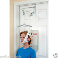 Over The Door Cervical Neck Traction Unit Kit Home Head Brace Professional Grade