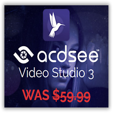 ACDSee Video Studio 3.0 - Video Editing for Windows 64-bit, 🗝️ genuine key