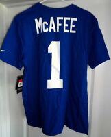 Nike Pat McAfee #1 Indianapolis Colts T Shirt, Men's Large - NEW