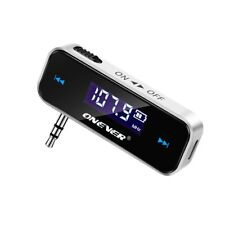 Bluetooth Car FM Transmitter Wireless LCD Diaplay Adapter MP3 Player iPhone iPod