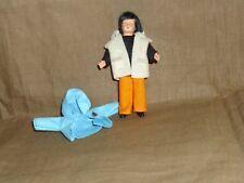 Puppenstubenpuppe, Miniatur 1:12, Caco (Canzler), Junge  zusätzlicher Kleidung