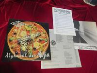 SCHLIESSMUSKEL Alphabet der Mafia Orig.  Vinyl/Cover: mint(-) OIS & Promoinserts