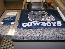 Brand New Nfl Duel Set Dallas Cowboys Car Flag And Coolie