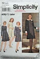 Sewing Pattern Dress UNCUT size 6 8 10 Easy 9753 Bust 30.5 31.5 32.5 PA139