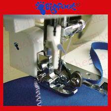 SEWING CUT& SEW/OVERLOCKER ATTACHMENT/FOOT FITS BROTHER,JANOME,ELNA,SINGER.VIDEO