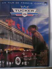 .Affiche cinéma 120x160    TUCKER     F.F. Coppola