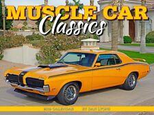 MUSCLE CAR CLASSICS - 2019 WALL CALENDAR - BRAND NEW - VINTAGE 2413