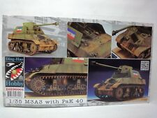 DING HAO HOBBY  KIT 1:35 CARRO ARMATO M3A3 WITH PAK 40  ART 96001