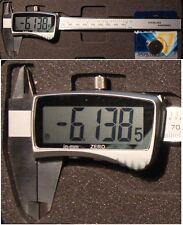 """numérique étrier coulissant 150 mm/6 """" taille Exposition 16mm 3V lithium-batt"""