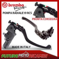 BREMBO POMPA FRENO RADIALE RCS 19 RACING MOTO TRIUMPH SPEED TRIPLE 1050 / R