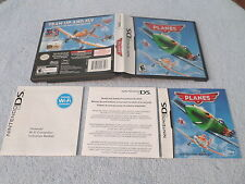 PLANES - Disney -  (Nintendo DS) - REPLACEMENT BOX & INSTRUCTIONS - NO GAME