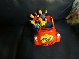 The Wiggle Big Red Car with Figures Emma Lachy Simon Anthony
