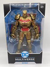 DC Multiverse Hellbat Suit Gold Edition Batman Action Figure