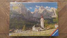 Puzzle Ravensburger« Colfosco/Dolomiten- 3000 Pièces » 1977 Très Bon Etat.