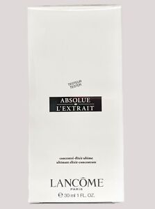 NIB Lancome Absolue L'Extrait Ultimate Elixir Concentrate 1oz, SEALED WHITE BOX