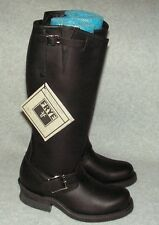 Frye Tall Engineer Womans Boots  NEW  Size 6 MSRP $329     Black