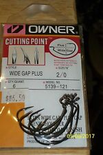 Owner Cutting Point Wide Gap Plus 2/0
