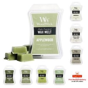 WoodWick Wax Tart Melts - Highly Fragranced for wax Warmers - Choice of Scent