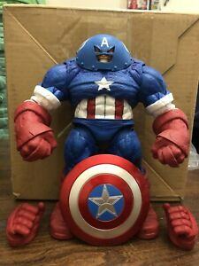 Diamond Marvel Select Captain America Juggernaut China Version Rare Beautiful