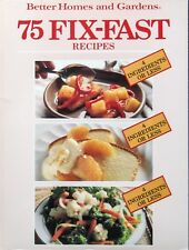 Vintage 75 FIX-FAST RECIPES 4 Ingredients Or Less - Better Homes & Gardens