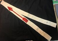"1950s 60s ORDER OF THE ARROW OA BSA VELVET ARROW 305 mm  55"" X 2"" SASH FELT MINT"