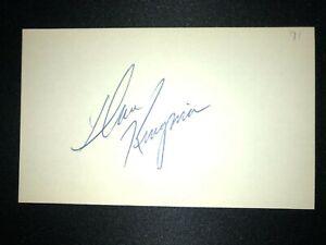 1970s GIANTS: Dave Kingman, SIGNED 3x5 (BSJ)