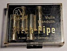 Pyramid A 440 German Violin, Mandolin Pitch Pipe - Tuner Eadg,