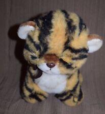 "Vtg 1982 GUND Tamba Leopard Cheetah Kitten Cub Plush Spots 10"" Item No. 9017"