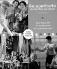 En contacto: Gramtica en accin (Text/Audio CD Package)  Gill, Mary McVey  New  B