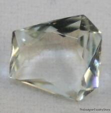 Piedras Preciosas Naturales aguamarina azul claro 7 mm Hexagonal Corte Facetado Gema 0.8 CT AQ15B