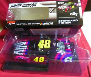 JIMMIE JOHNSON,  BRAND NEW, 1/24 2020 CAMARO ZL1, ALLY SIGN FOR JIMMIE, #48
