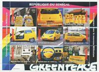 GREENPEACE FIRST AID FOR THE CLIMATE RAINFOREST SAVE THE BEAR MNH STAMP SHEETLET