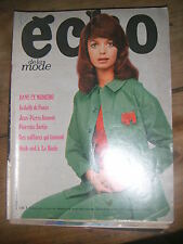 Echo de la mode N° 30 1971 Patron Mode vintage Couture Robe Tricot Enfant 70'