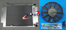 3 core FOR Mazda RX2 RX3 RX4 RX5 RX7 Aluminum Radiator with Heater pipe MT+ FAN