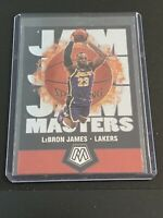 2020 Panini Mosiac LEBRON JAMES Jam Masters - Insert Rare - Lakers #16 Hot!