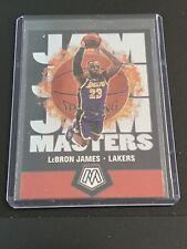 2020 Panini Mosiac LEBRON JAMES Jam Masters - Insert Rare - Lakers #16 Hot!