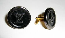 Louis Vuitton Vintage Button Cufflinks-Unisex Metal Cufflinks.Perfect Condition
