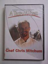 A Taste of Hyatt w/ Chef Chris Mitchum DVD NEW Cooking Hyatt Grand Champions Spa