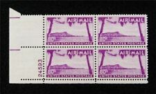 nystamps US Plate Block Air Mail Stamp # C46 Mint OG NH $20 P#4