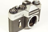 Zenit ET Silver 35mm SLR Film Camera Body only