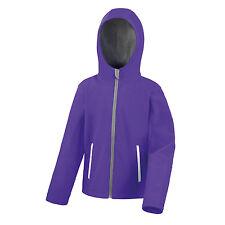 Result Core Junior TX Performance Hood Softshell Kids Waterproof Jacket (R224JY)