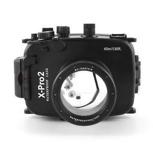 PRO 40m/130ft Waterproof Underwater Camera Housing Case For Fujifilm Fuji X-Pro2