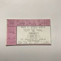 Diana Ross Trump Taj Mahal Mark G Etess Arena Concert Ticket Stub Vintage 1997