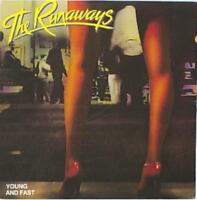 THE RUNAWAYS - YOUNG AND FAST USED - VERY GOOD CD