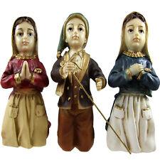 Three Sheppard's of Fatima Figurine Religious Statue Made In Portugal #460