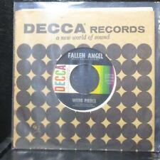 "Webb Pierce - Fallen Angel / Truck Driver's Blues 7"" VG+ Vinyl 45 Decca 9-31165"