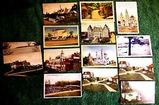 NEW YORK STATE ASSORTED LOT OF 15 POSTCARDS ALBANY LOOMIS CENTRAL PARK WEST PT