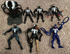 Toybiz Marvel Legends Venom 6 Action Figure Lot