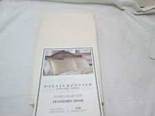 "New Palais Royale Hotel Collection Standard Sham 20""x26"" ~ 630 TC ~ Ivory NIP"